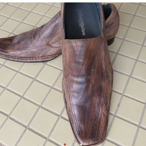 Julius Marlow size 8 Shoes slip on brown leather